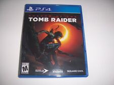 Original Box Case Replacement Sony PlayStation 4 PS4 Shadow of the Tomb Raider