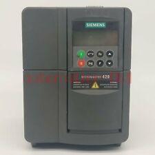 Used Siemens 6se6420 2uc21 5ba1 Inverter 6se64202uc215ba1 Test In Good Condition