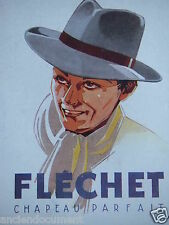 PUBLICITÉ 1943 FLECHET CHAPEAU PARFAIT - HAVAS - ADVERTISING