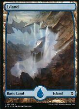 Island - Version 3 (Full Art) | NM/M | Battle for Zendikar | Magic MTG