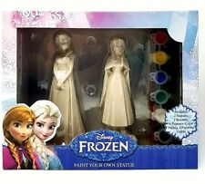 Disney Frozen Paint Your Own Statue - Elsa & Anna