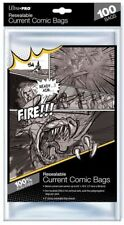 Ultra Pro 100 Comic Protection Sleeves Sealable Golden Size