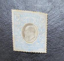 EAST AFRICA & UGANDA 1903 10R SG 14 Sc 14 MH some toning