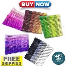 24pcs 5cm Hair Clip Acrylic Barrette Fashion Stick Hairpin Women Accessories