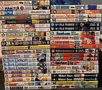 Mixed Manga Lot $4.99 Each Shonen Jump Viz Graphic Novel Assorted Action