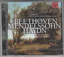 BEETHOVEN - MENDELSSOHN - HAYDN - VIOLIN CONCERTOS - HICKOX  - 2 CD