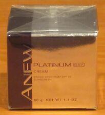 Avon Anew Platinum Anti-aging Day Cream Broad Spectrum SPF 25 Age 60+ $38 NIB