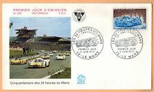 1973-Fdc Enveloppe 1°Jour**24 H du Mans**Timbre .Yt.N°1761