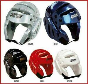Karate Sparring Gear Head Guard Helmet for Taekwondo Kids Adults