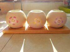 Party light Springtime Garden Globes Tea light Candle Housewarming Gift