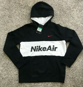 Nike Air Boy's Casual Loose Fit Hoodie DB5470 Size XL