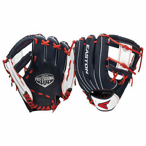 Easton Professional Youth Series 10 Inch PY10USA Baseball Glove - Navy/White/Red