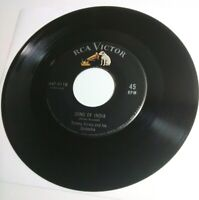 """1937 Tommy Dorsey Song of India & Marie 45 RPM 7"""" record RCA Victor 447-0118 NM+"""