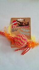 Spot Elasteeez Catnip Cat Toy - Orange - Free Shipping