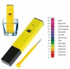 US Digital PH Meter Tester Pocket Portable Pool Water Aquarium Hydroponic Wine