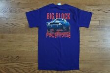 Rare Vintage Chevy Cheverolet Big Block Racing Muscle Car Tee Shirt Size Small