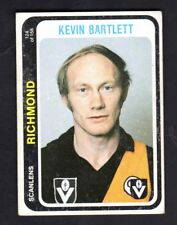 1979 SCANLENS CARD - KEVIN BARTLETT (RICHMOND)