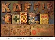 MUSEUM ART PRINT Koffie Manuel Hughes