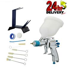 Devilbiss Slg 620 18mm Spray Gun Gravity Feed With Stand And Cleaning Kit