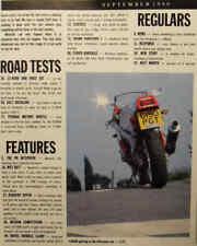Performance Bikes 9/90 Triumph, Kawasaki ZZ-R600, ZZ-R250, Yamaha FZR400RR SP