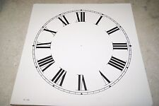 CLOCK DIAL NEW  WALL / MANTEL CLOCK PARTS 11 INCH IVORY COLOR DIAL