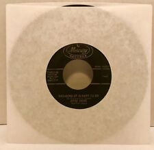 """Jivin' Gene Breaking Up Is Hard To Do 45 Vinyl Record 7"""" Single My Need For Love"""