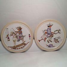 Decorative Hornsea Pottery Wall Plaques
