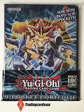 ♦Yu-Gi-Oh!♦ Classeur 9-Pocket Duelist Portfolio 10 pages : Yugi, Joey et Kaiba