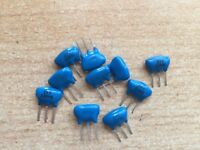 10 x   3 Pin Ceramic Resonators   use in oscillator circuits   2mhz        Z2039