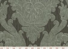 Chenille Damask Brown Upholstery Fabric by P Kaufmann Capulet Cl Silhouette
