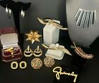 11pc Lot GIVENCHY DIOR SWAROVKSI High End Signed VTG Brooches Necklace Earrings