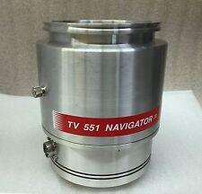 Agilent Varian Turbo Vacuum Pump TV551 Navigator 9698922 M004 with 4 Mo Warranty