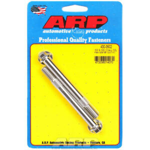 ARP 430-3502 Hex Head Stainless Starter Bolts SBC BBC Chevy Small/Big Block