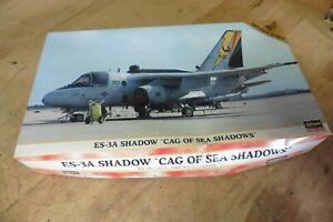 Hasegawa ES-3A Shadow Cag of Sea shadows Model Airplane Kit 1:72 Scale 00055