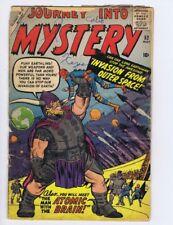Journey Into Mystery 52 (FRPR) 1959 Marvel Comic Kirby, Ditko, Sinnott (c#22003)