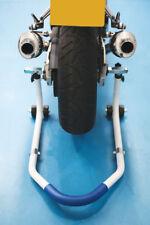 Laser Tools 6495 Moto Bicicleta Stand-Delantero Trasero Ajustable (hasta 200kg)