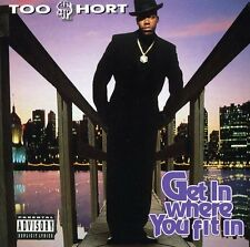 Too $hort, Too Short - Get in Where Ya Fit in [New CD] Explicit