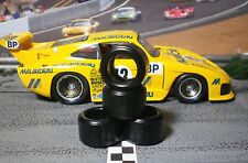 1/32 URETHANE SLOT CAR TIRES 2pr PGT-20137LM fit FLY Porsche 911 & 935/K3