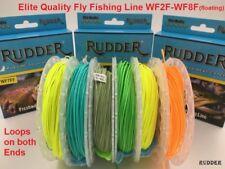 Rudder Fly Fishing Line 100Ft Weight Forward 2F 3F 4F 5F 6F 7F 8F welded loops
