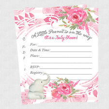 Animals For Girls New Baby Greeting Cards Invitations For Sale Ebay