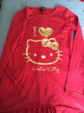 NEXT HELLO KITTY WATERFALL BACK TUNIC AGE 10 Ex Con