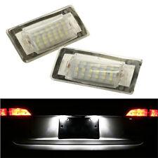 ECLAIRAGE PLAQUE LED AUDI TT 8N 10/1998-06/2006 1.8 T 3.2 V6 FEUX BLANC XENON
