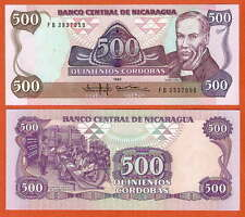 P155   Nicaragua    500 Cordoba   1985  UNC