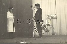 WWII Ger RP- Luftwaffe Comic Play- Theater- Microphone- Bicycle- Street Sign- 40