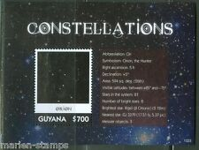 GUYANA  2013 CONSTELLATIONS ORION SOUVENIR SHEET  MINT NH