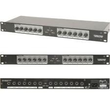 "2x6 6.35mm ¼"" Speaker Matrix -12 Zone Switch/Splitter- Mono/Stereo Distribution"