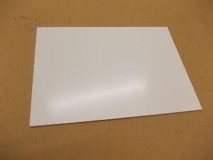 2.5 mm A4 White Solid UPVC Sheet,Matt-Satin Finish 297 mm x 210 mm Cladding-etc