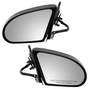 Pair Set Power Side View Mirrors for 1989-1997 Ford Thunderbird Mercury Cougar