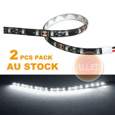 2X12V DIY 30cm SMD 3528 17LED Flexible Car/Motorcycle/Truck/Brake Strip Light