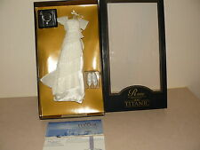 Franklin Mint Heavenly Ensemble For The Titanic Rose Doll With COA